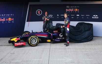 Ecco la RB10 di Vettel e Ricciardo