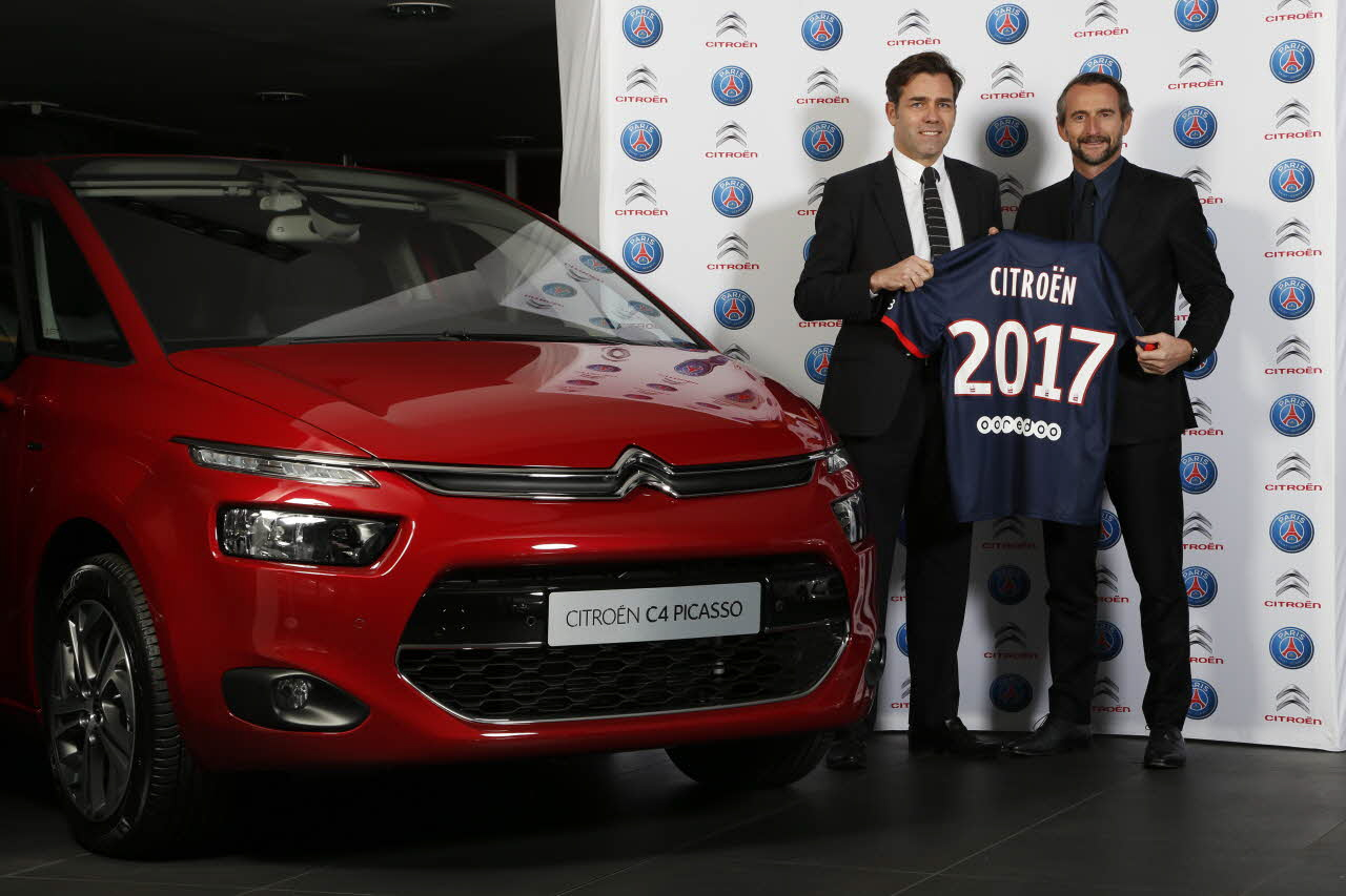 Citroën rafforza il legame col Paris Saint-Germain