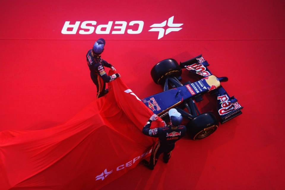 Il giorno della Toro Rosso STR9
