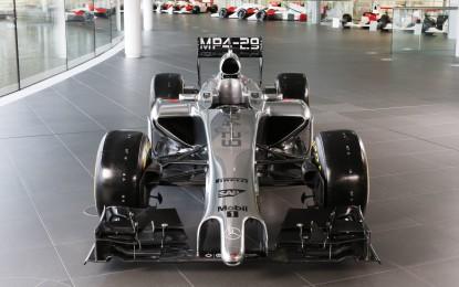 McLaren Mercedes MP4-29
