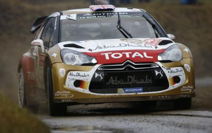Montecarlo: primo podio per Meeke sulla DS3 WRC