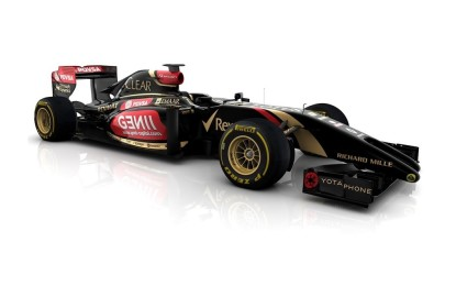 Ed ecco, a sorpresa, la Lotus E22