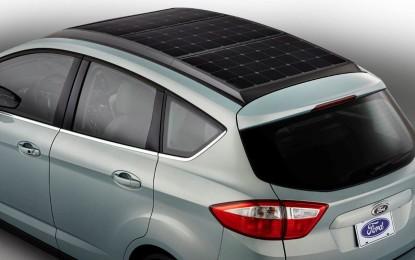 C-MAX Solar Energi: concept ibrido-elettrica a energia solare