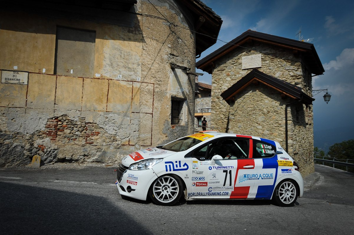 Montecarlo: Cogni-Mazzetti 4° di classe con la 208 R2
