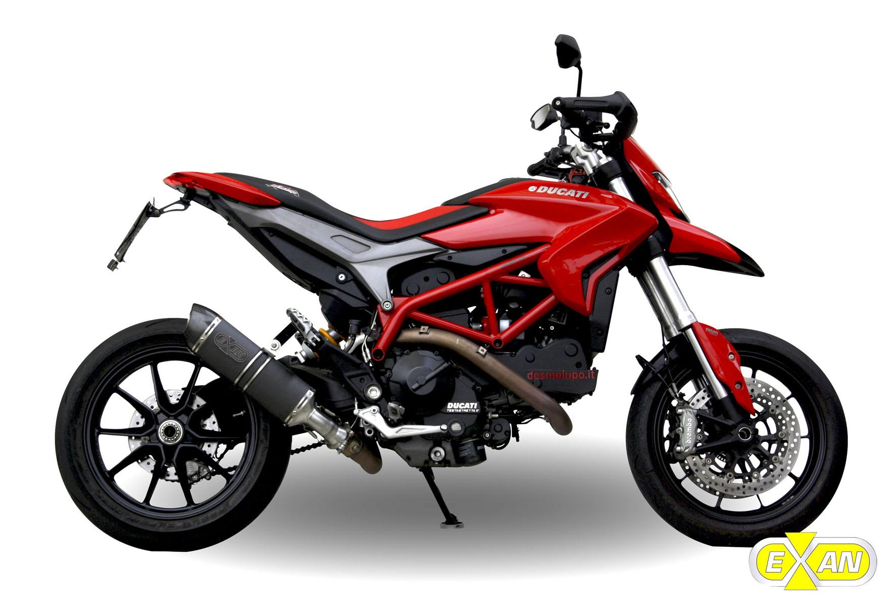 Exan e Ducati Hypermotard