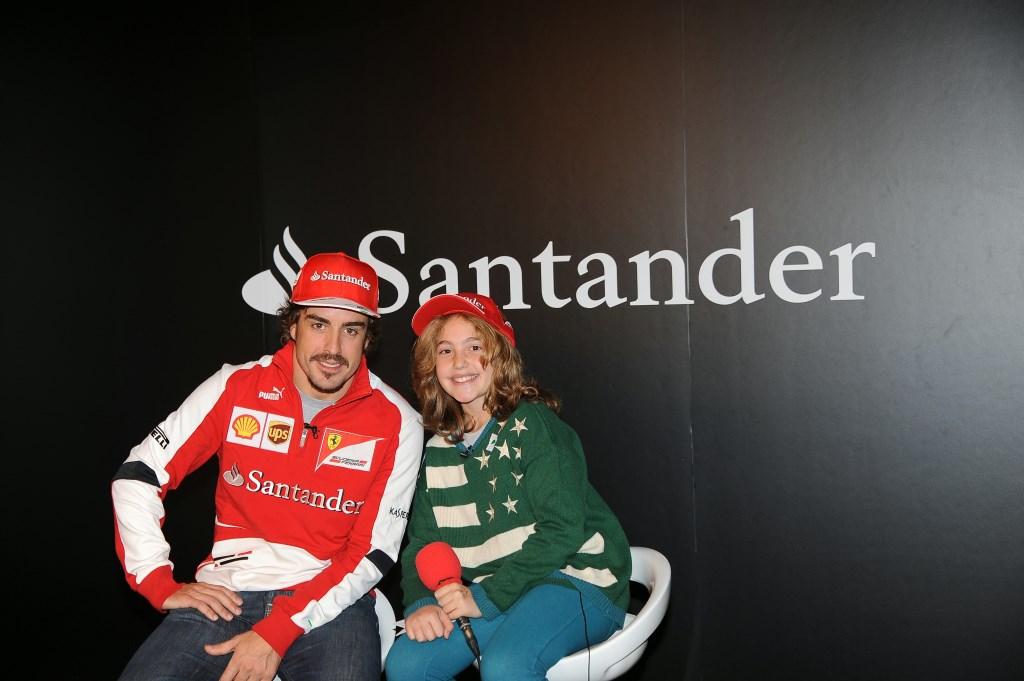 """Alonso a """"Giornalista per un giorno"""""""