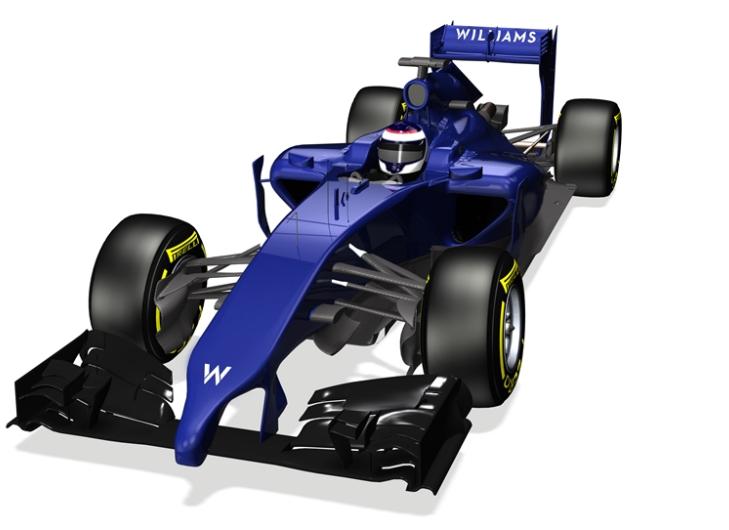 Prime immagini della Williams Mercedes FW36