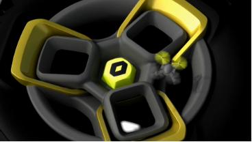 Nuova concept Renault a New Delhi