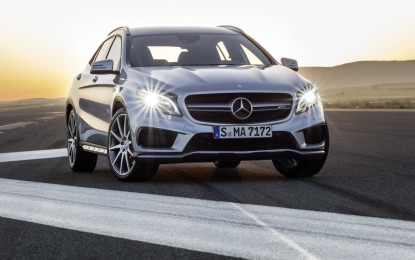 GLA 45 AMG: crossover high performance