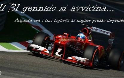 GP d'Italia: sconti fino al 31 gennaio