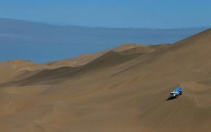 Sparco inizia il 2014 vincendo la Dakar