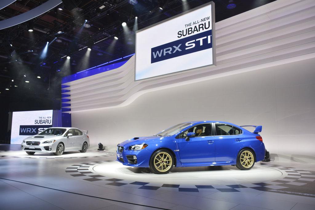 Detroit: Subaru WRX STI