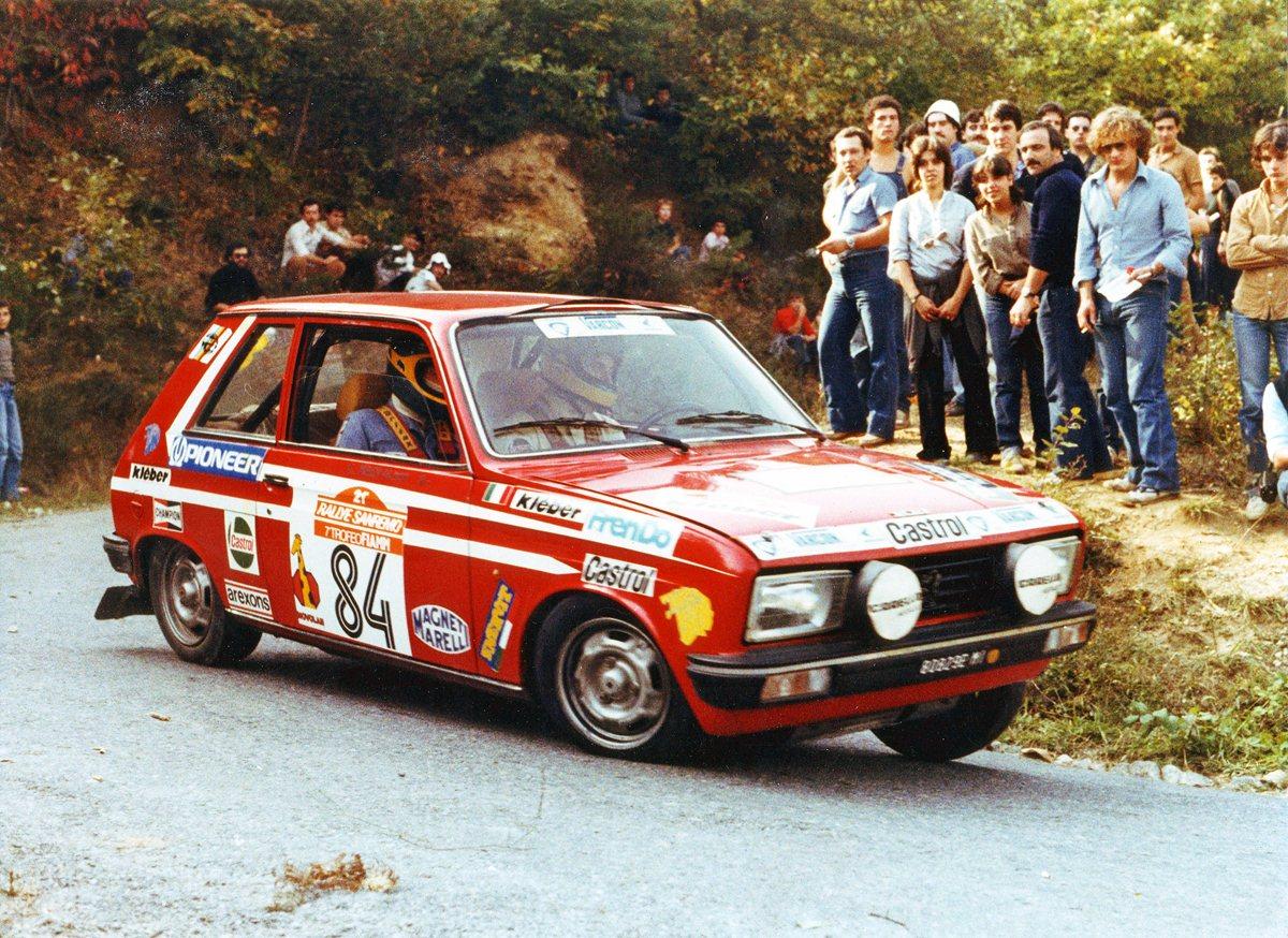 La passione Peugeot per i rally