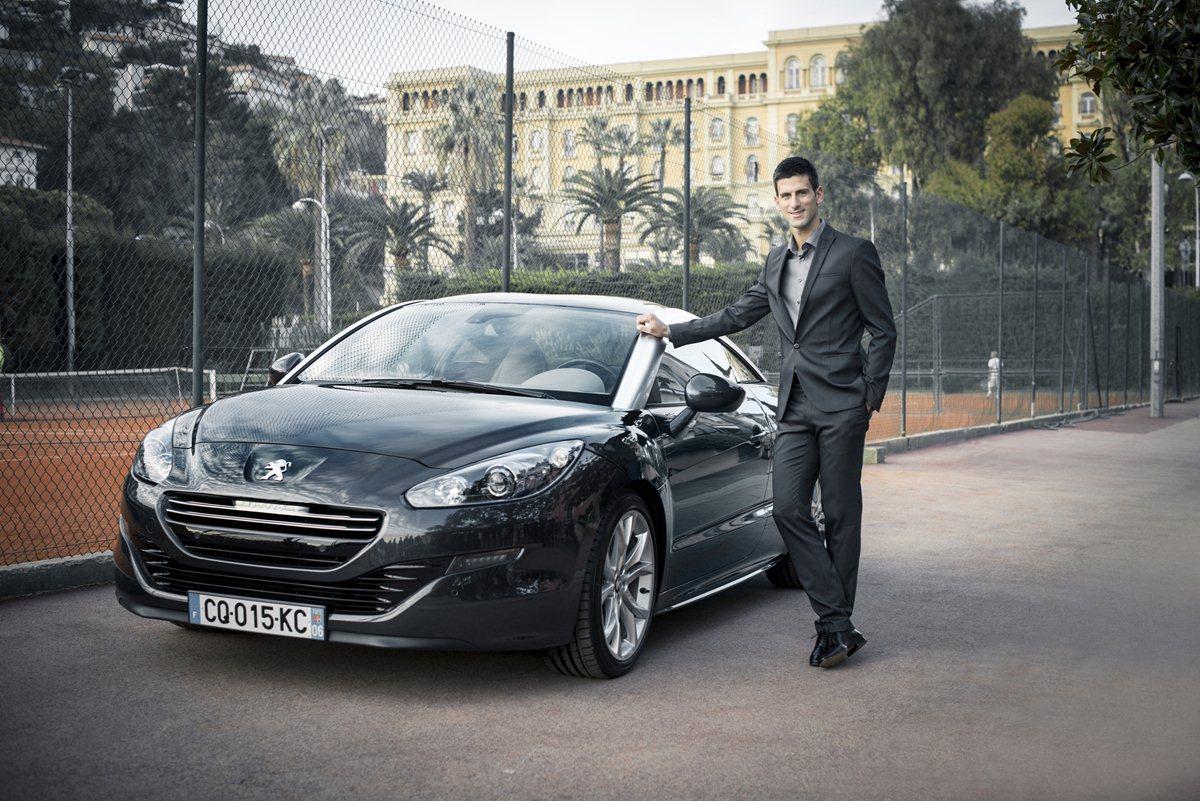 Novak Djokovic nuovo ambasciatore Peugeot