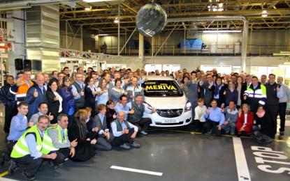 Opel avvia la produzione della nuova Meriva a Saragozza