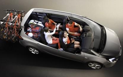 Opel: i 15 anni del sistema di sedute Flex7