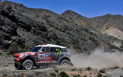 Dakar 2014: MINI in avvicinamento alle Ande