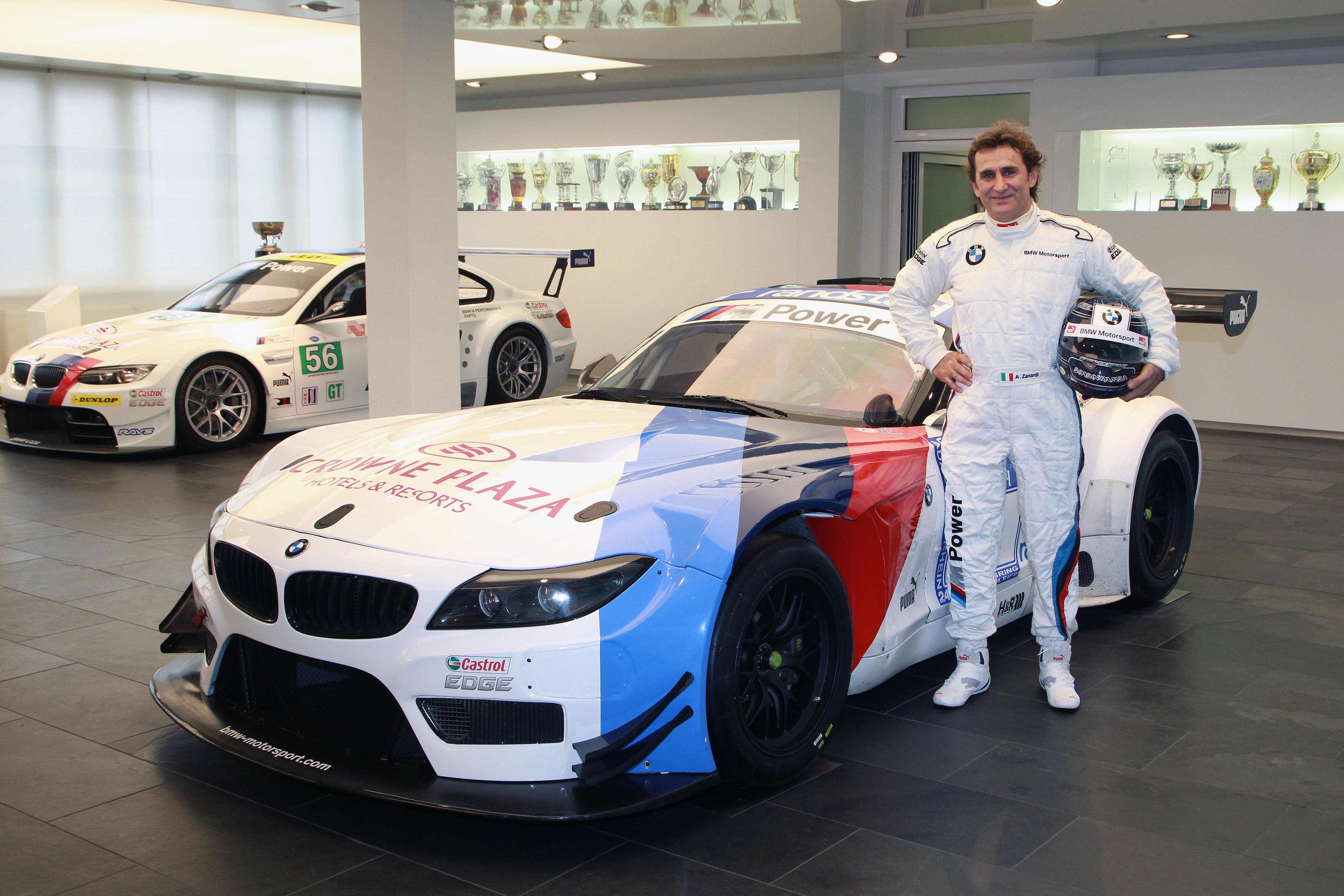 Zanardi torna al volante con BMW Motorsport