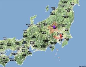 Piantina Giappone