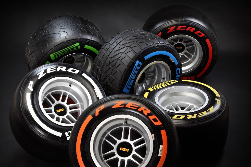 Le gomme per i GP di Spagna, Monaco e Canada