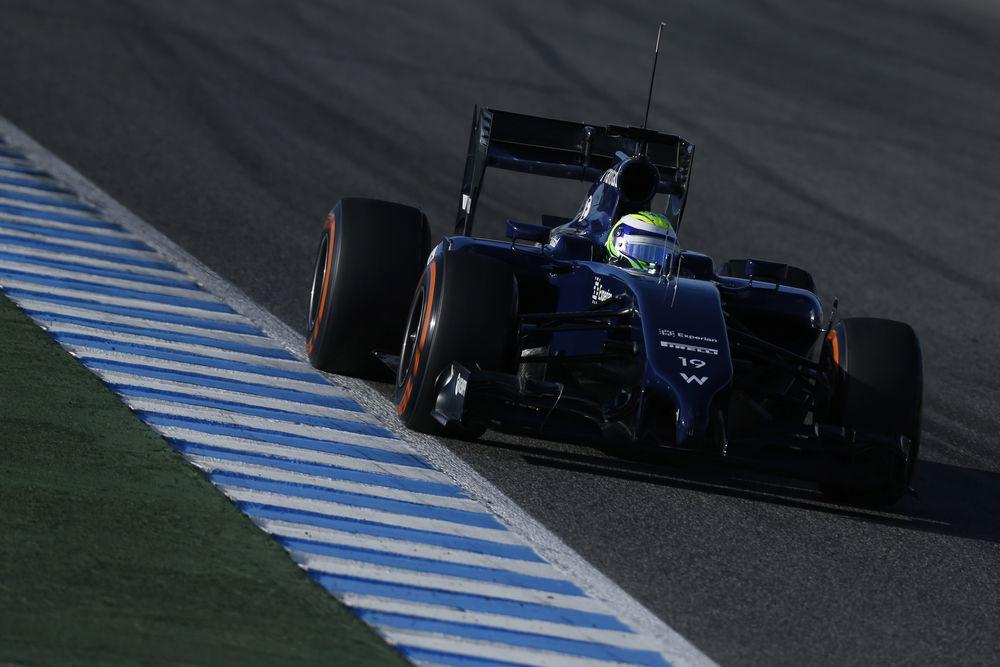 Massa più veloce nell'ultimo giorno a Jerez
