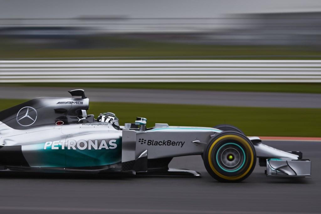 """La """"prima"""" della F1 W05"""