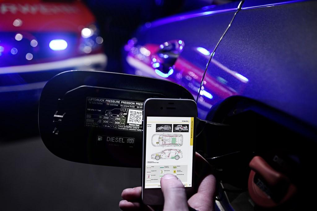Mercedes: più tempestività dei soccorsi col codice QR