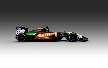 Nuovo look per la Sahara Force India 2014