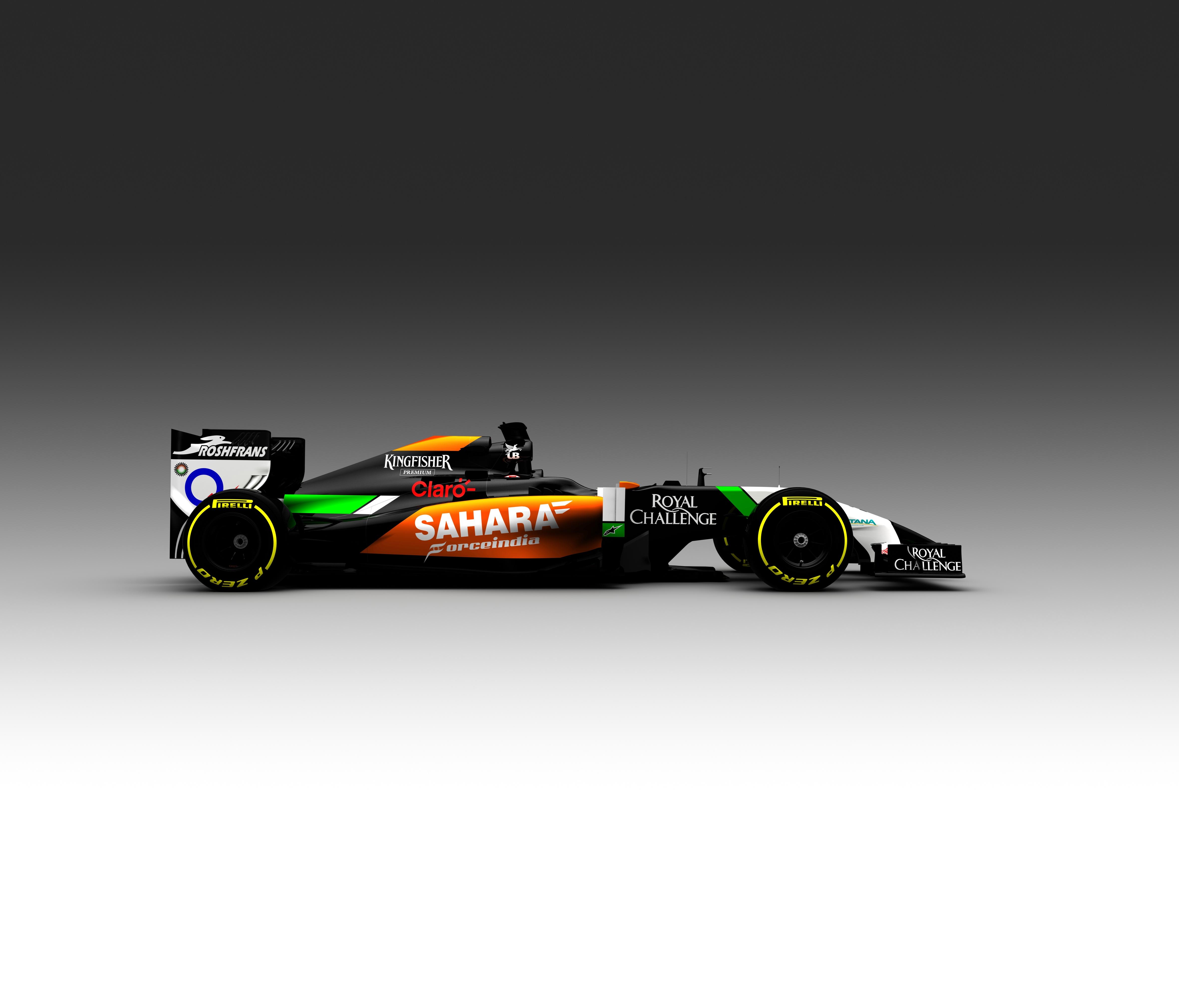 Nuovo look per la Sahara Force India 2014