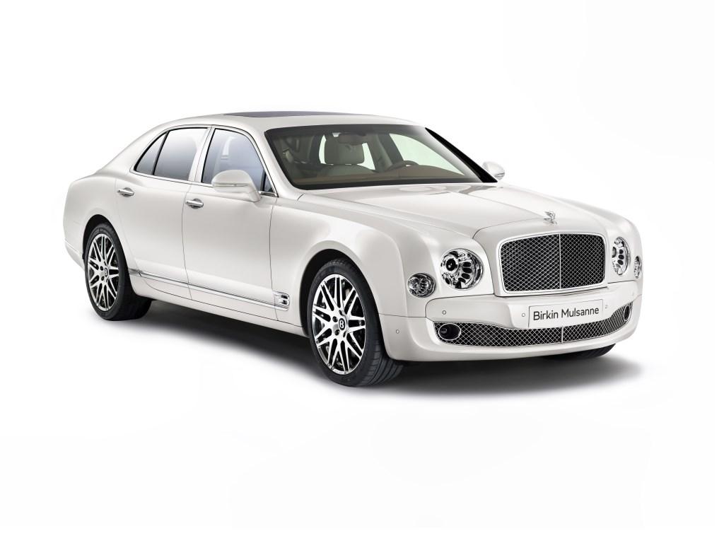 Bentley Birkin Mulsanne in edizione limitata