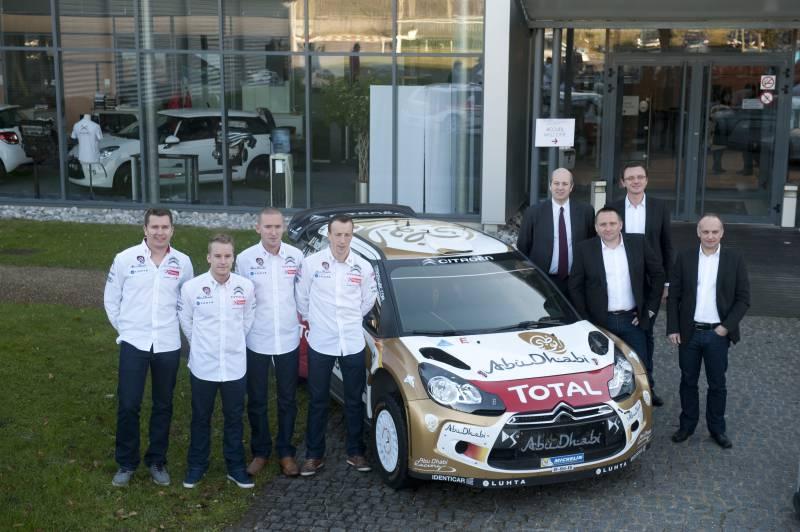 Citroën Racing pronta per Montecarlo