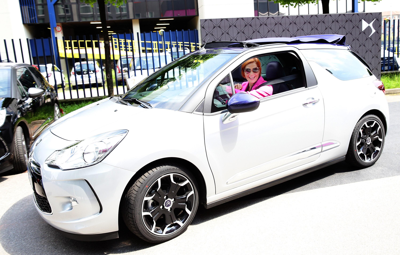 Simona Ventura con Citroën anche nel 2014
