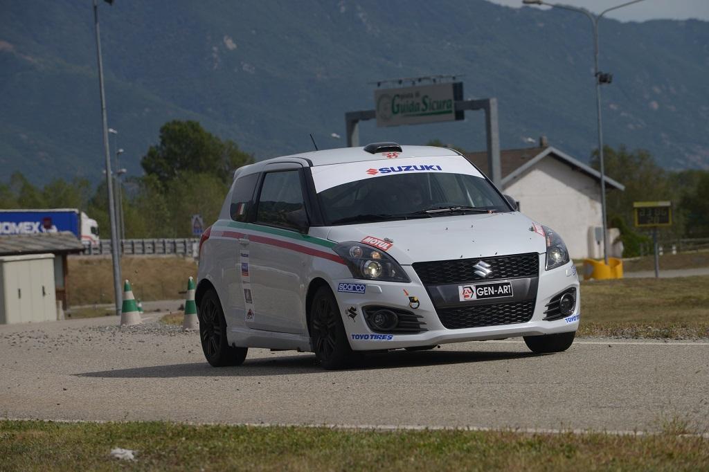 Suzuki Italia nei rally nazionali 2014