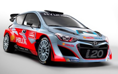 Hyundai Shell World Rally Team pronto al debutto a Montecarlo