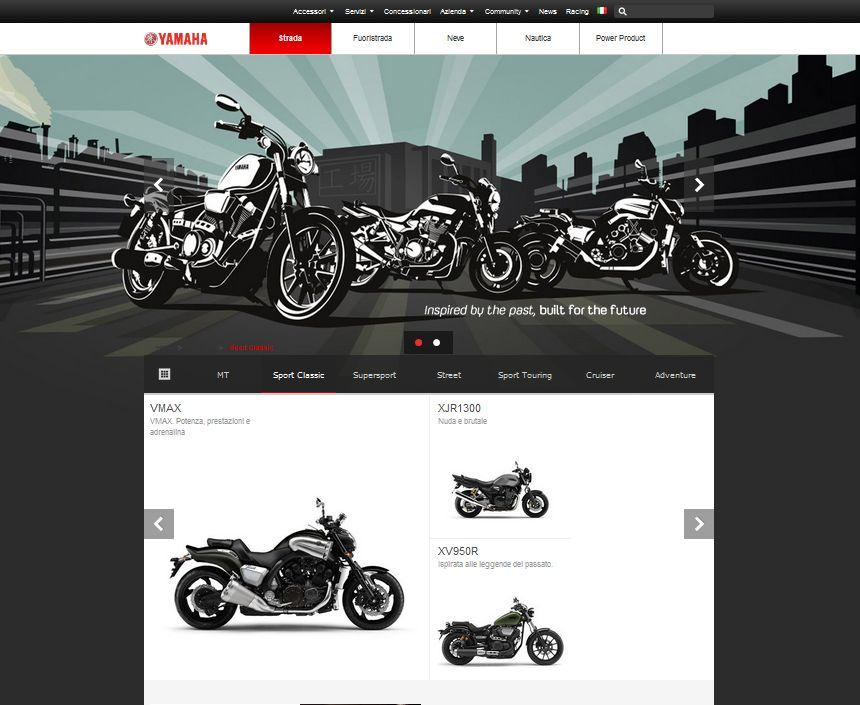 Yamaha si rifà il look sul web!