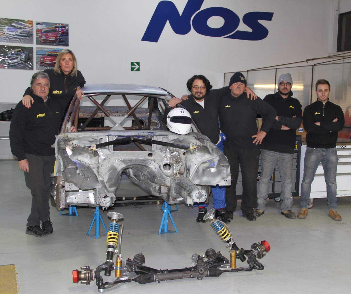 NOS Racing pronta per CITE e Coppa Italia 2014