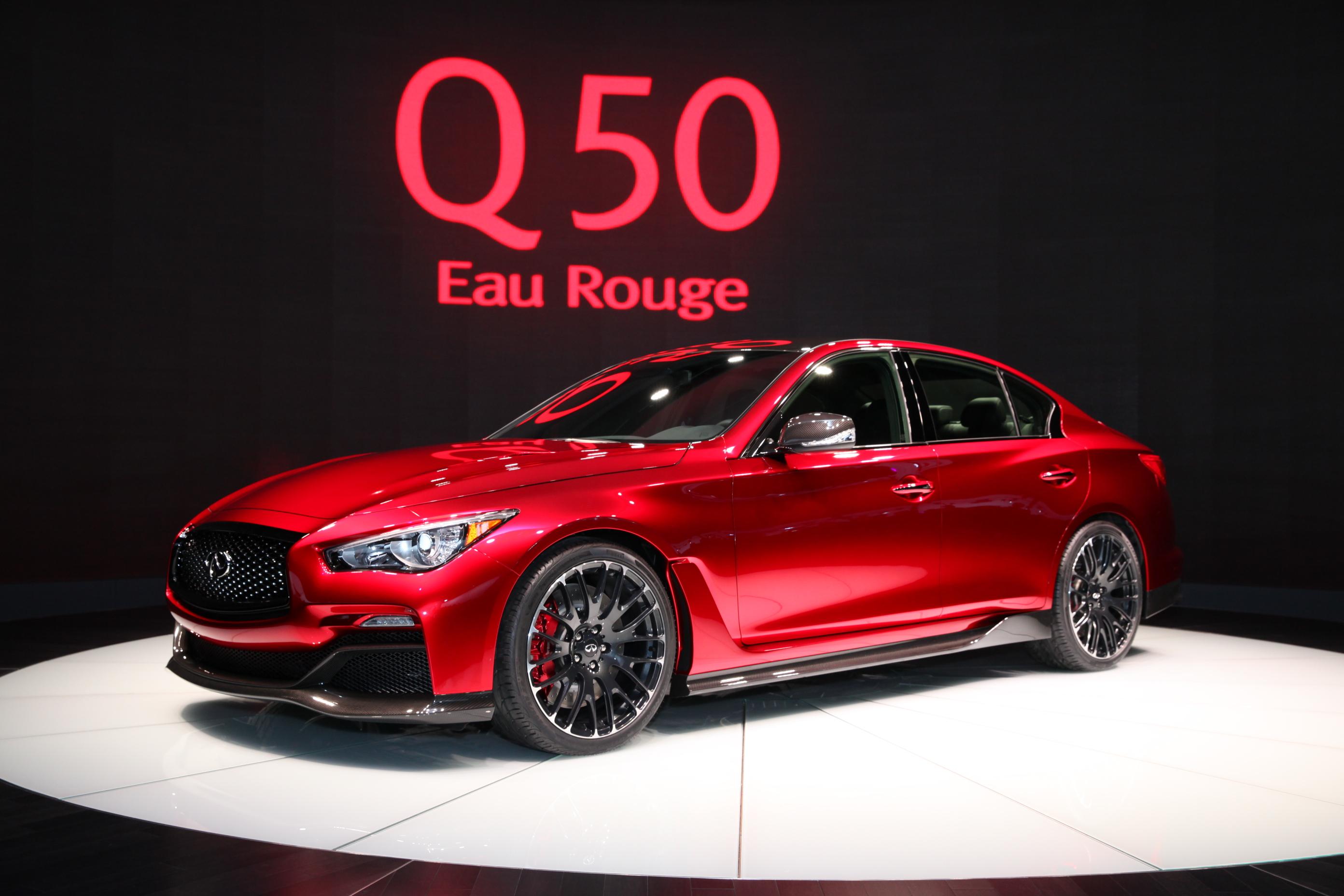 Detroit: Infiniti Q50 Eau Rouge