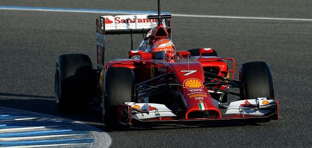 Prima giornata di test F1 a Jerez a favore della Ferrari