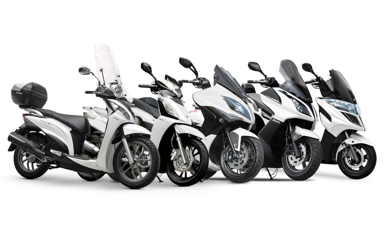 KYMCO 2014: si riparte dal Motor Bike Expo