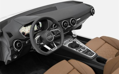 Gli interni della nuova Audi TT