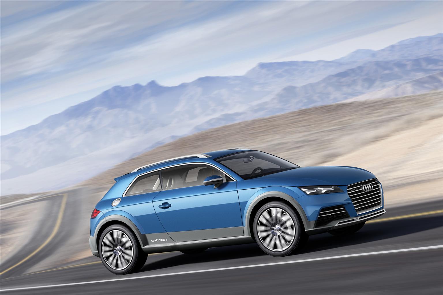 Detroit: show car Audi allroad shooting brake