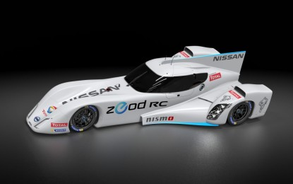 Nissan: rivoluzionario motore a benzina per ZEOD RC