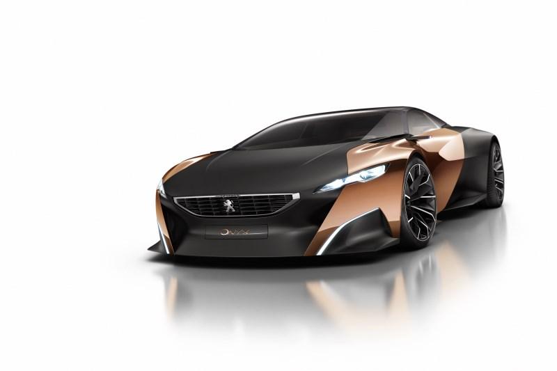 Peugeot una nuova Concept a Pechino