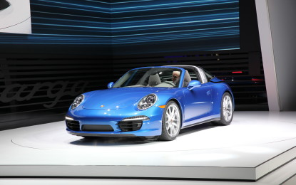 Detroit: Porsche 911 Targa 4 e 4S in video