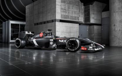 Il Sauber F1 Team presenta la Sauber C33-Ferrari