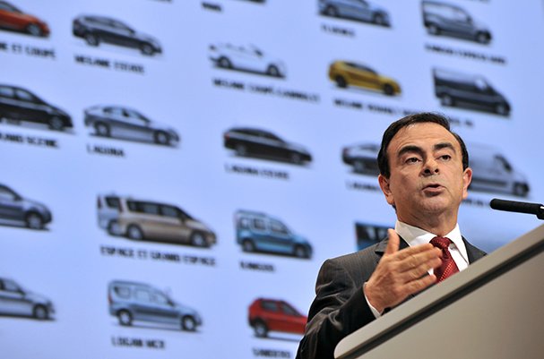 "Ghosn nel programma Linkedin ""influencer"""