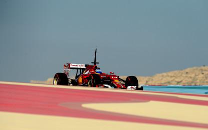 Alonso: 872 km in due giorni in Bahrain