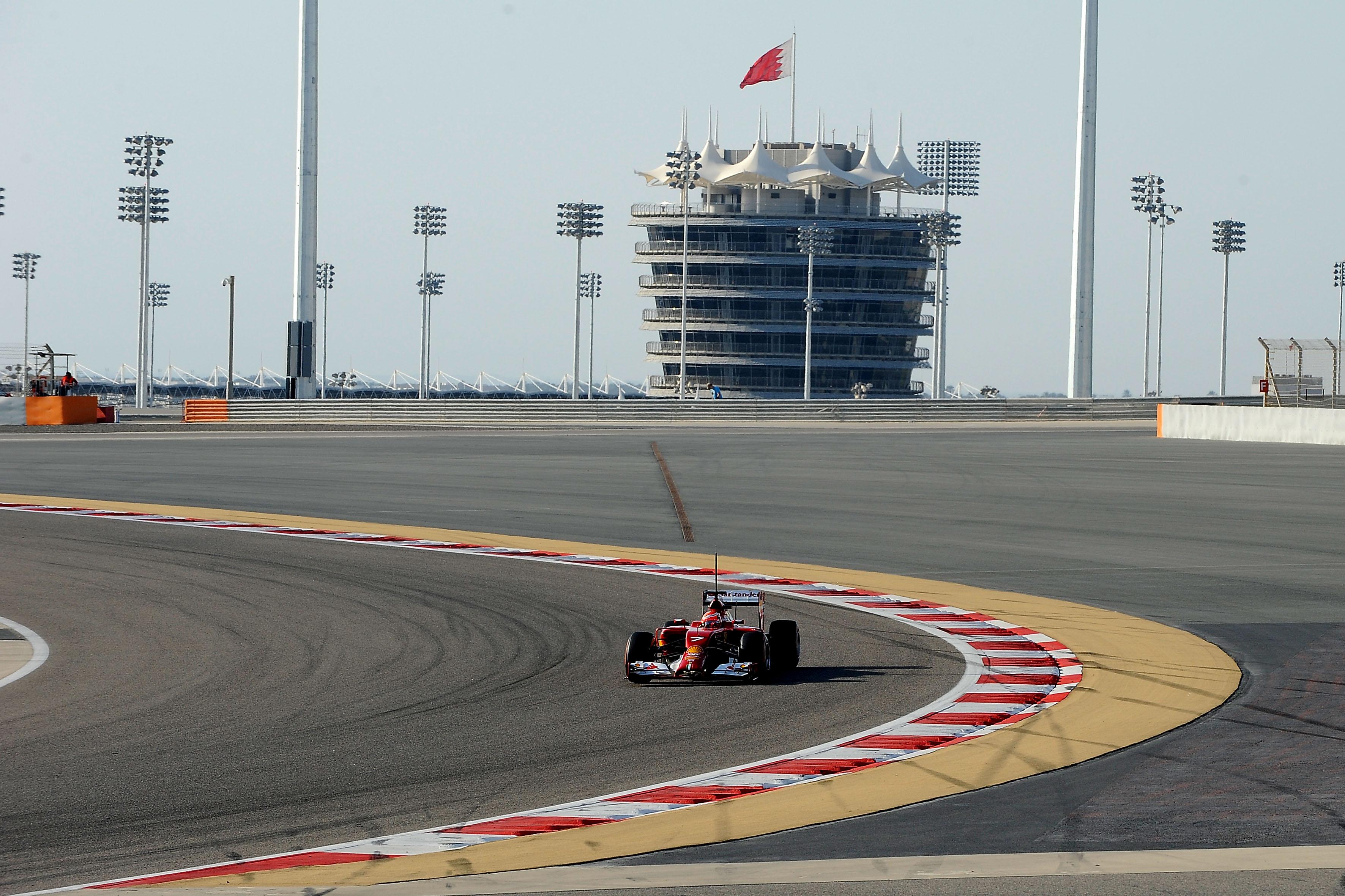Fernando e Kimi alla vigilia del Bahrain