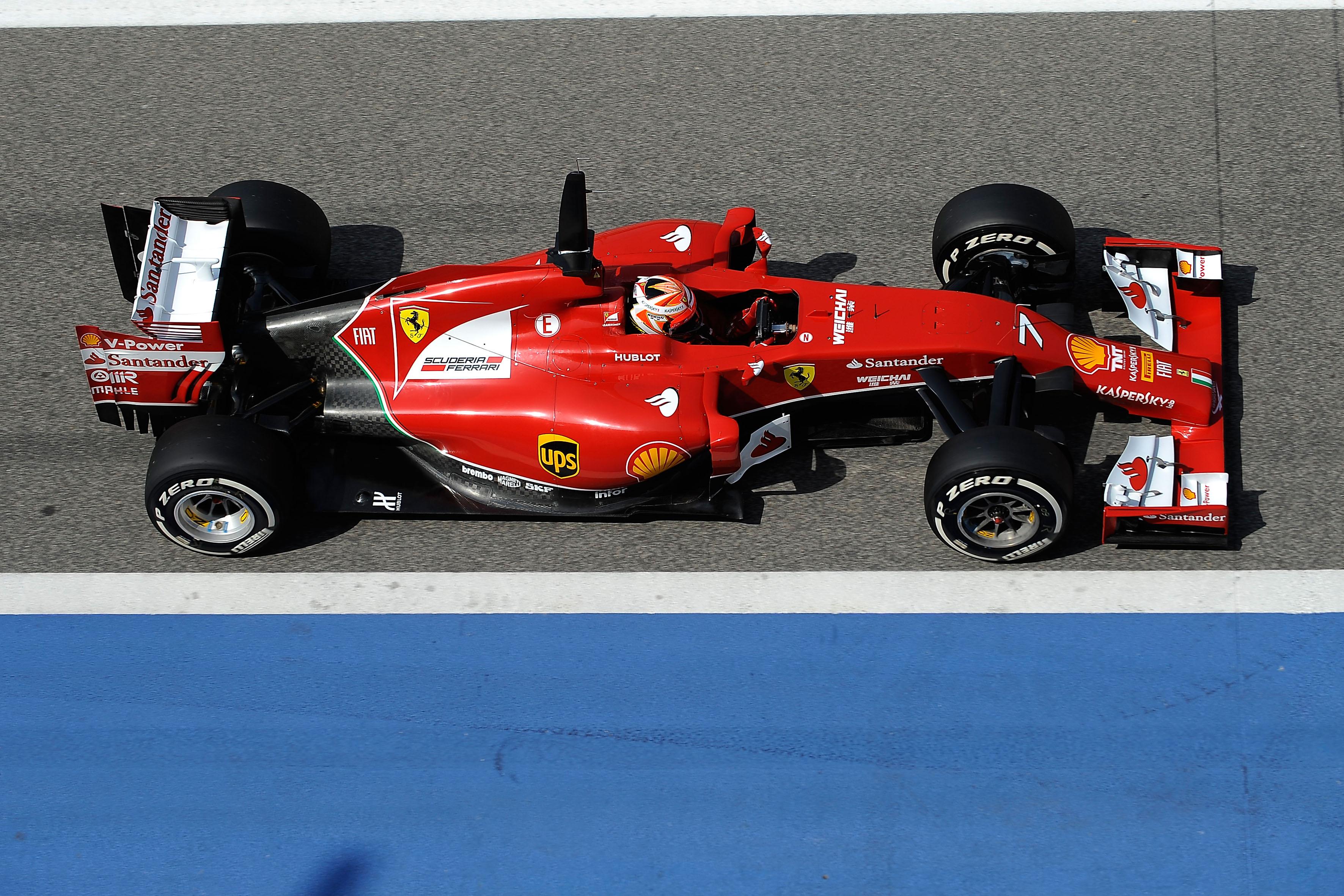 Kimi dà il via agli ultimi test in Bahrain
