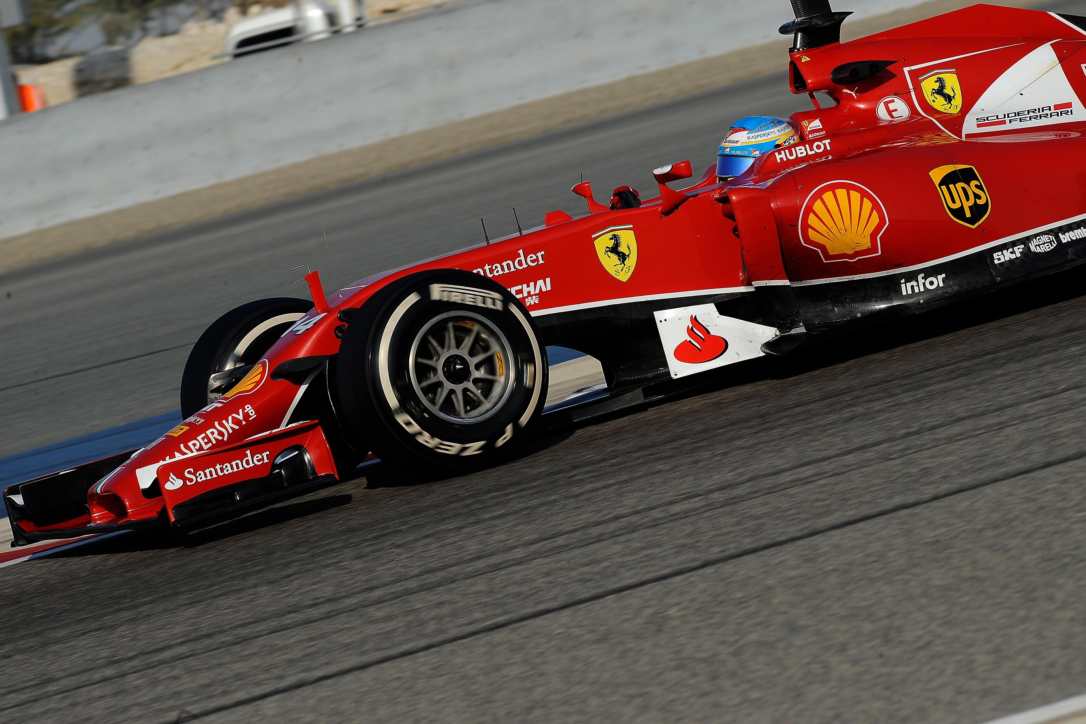 Test in Bahrain: Alonso in pista due giorni